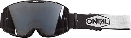 O'NEAL B20 Plain Goggle MX DH Brille schwarz/weiß/grau Oneal