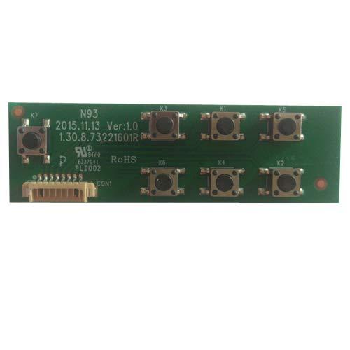 Módulo Botonera 1.30.8.73221601R, Nevir NVR-7412-20HD-B