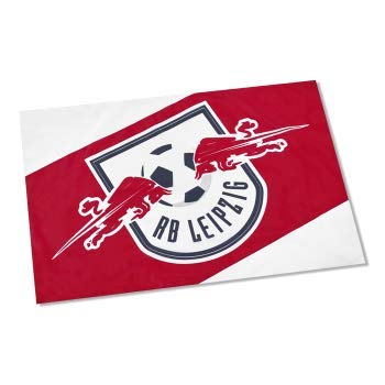 Flaggenfritze Stockflagge RB Leipzig - 40 x 60 cm, gratis Aufkleber