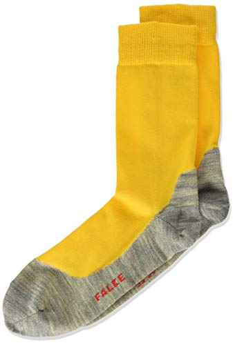 FALKE Kinder Socken Active Sunny Days - Baumwollmischung, 1 Paar, Gelb (Sun 1180), Größe: 27-30