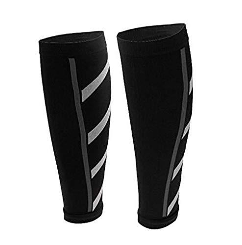 ndier Unisex Atletismo de running de manga de compresión pantorrilla pierna periostitis tibiale