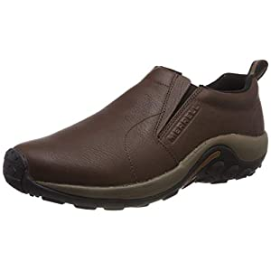 Merrell Jungle Moc Black Slate Leather 9.5 M