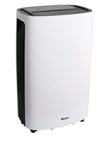 Swan 20L/Day Dehumidifier with 24 Hour Timer, Large LED Display & Soft Touch Panel, 4 Litre Water Tank, Auto Defrost, SH16810N, White, SH16810N