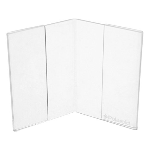 Marco en V acrílico transparente para fotos de 2x3 HP Sprocket, LG, Prynt, LifePrint Printer Projects - Paquete de 2