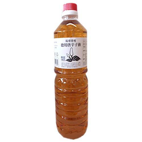 琉球薬味 こーれーぐーす 1L×1本 真常 ピリッと辛い唐辛子を泡盛に漬け込んだコーレーグース 沖縄そばやチャンプルーのアクセントに