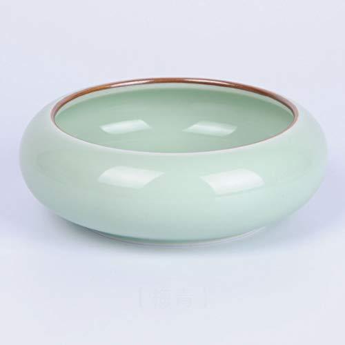 GSHWJS Cenicero de cerámica Cenicero de Escritorio Simple 10.3x10.3x3.9cm Cenicero (Color : C)