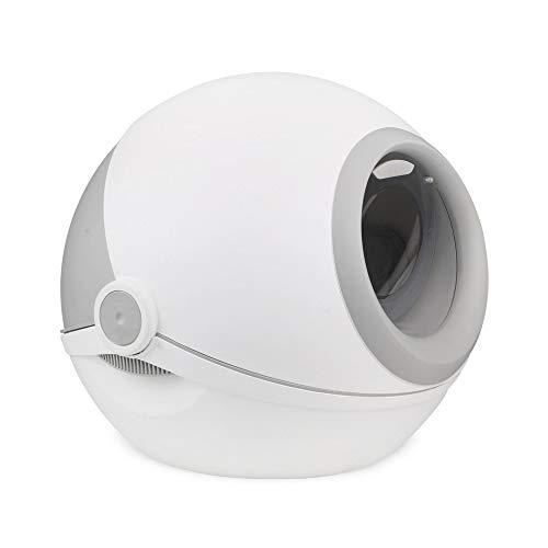 H&1 Litière pour Chat, Planète privée entièrement clôturée Conception à Une Seule pièce,...