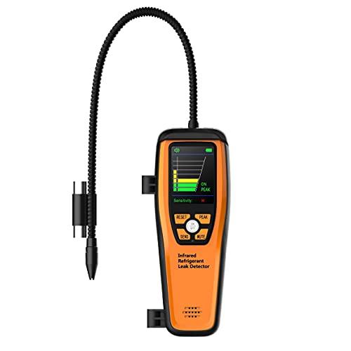 Elitech Detector Halógeno de Refrigerante Avanzado para HVAC CFC Recargables HCFC HFC 10 años de Vida 3 años de Garantía (ILD-200)