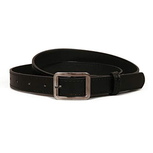 ROMQUEEN Cinturón de Piel Sintética para Mujer Cinturón de deporte Traje para Ropa Formal/Jeans Cinturón Mujer de 105CM