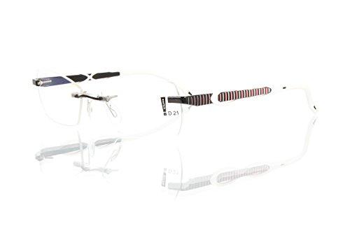 switch it Garnitur Combi 2356 Wechselbügel Montur in der Farbe schwarz, Ellipse weiß, Streifen grau-rosa