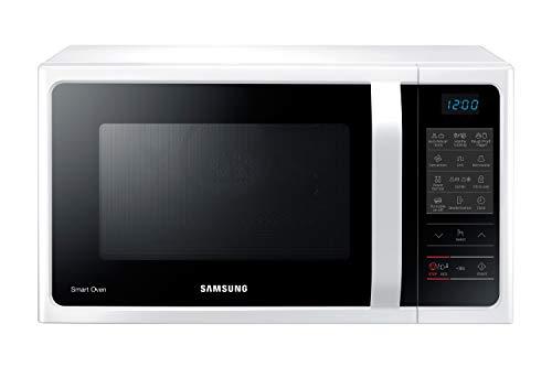Samsung MC28H5013AW/EG Kombi-Mikrowelle mit Grill und Heißluft / 900 W / 28 L Garraum (Extra Groß) / 51,7 cm Breite / Power Defrost / 35 Automatikprogramme / weiß