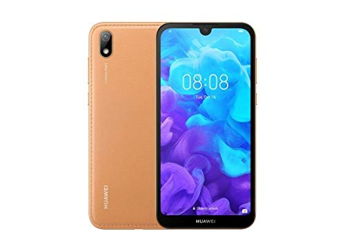 "Huawei Y5 2019 AMN-LX3 Dual SIM 32GB+2GB RAM 5.71"" Display Factory Unlocked (International Version) (Amber Brown)"