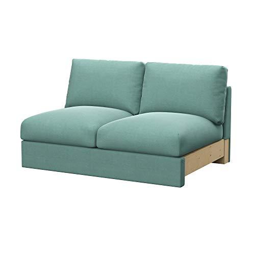 Soferia Fodera Extra Ikea VIMLE Divano a 2 posti, Tessuto Elegance Mint