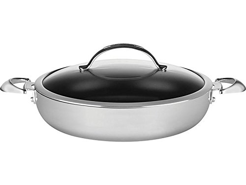 SCANPAN CTP Covered Chef Pan, 5.5 Quart