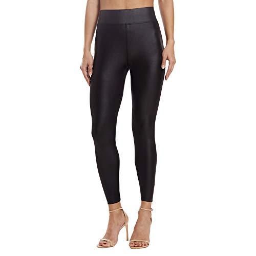 Leggings for Women - Premium Stretch Skinny Leggings for Women - Women Leggings High Shine Black 3X