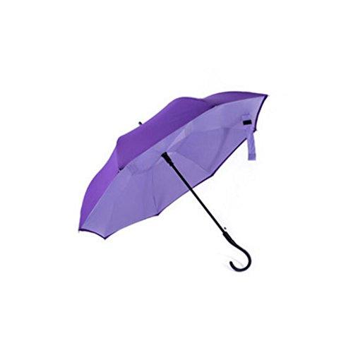 Liuyu · casa al Aire Libre Reverse Umbrella Sunny Day Rain Adulto...