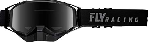 Fly Racing Adult 2019 Focus Snow Goggle Snowmobile Gray w/Silver Mirror Lens