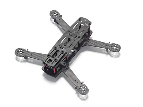 Usmile 250 Quad 3K Carbon Fiber FPV Quadcopter Frame for Mini Quad miniquad FPV Quad 250mm Racing Quadcopter Mini Drone FPV Drone