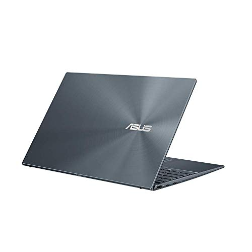 ASUS ZenBook 14 UM425IA (90NB0RT1-M03290) 35.5 cm (14 Zoll, Full HD, IPS-Level, 400 nits, matt) Ultrabook (AMD R7-4700U, AMD Radeon Graphics, 16GB RAM, 512GB SSD, Windows 10) Pine Grey.