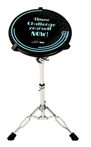 Havana Imported C8-12 12' Drum Practice Foam pad with Stand Sold By ChennaiMusicals