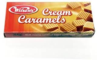 Wilson's Cream Caramels 6 boxes 64gm South African