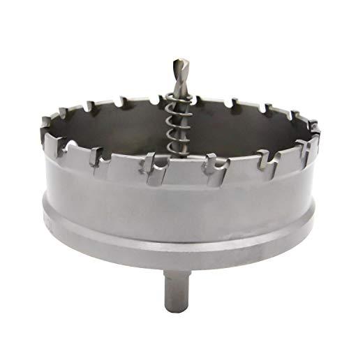 超硬 ホールソー ホールカッター ステンレス 鉄 金属 穴あけ タングステン合金チップ 切削直径100mm