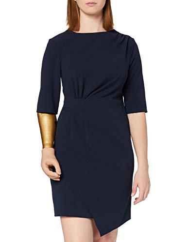 Marchio Amazon - find. Vestito Donna, Blu, 44, Label: M