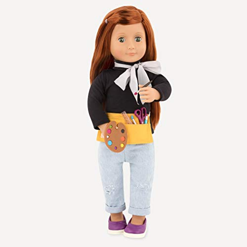 """Our Generation by Battat- Art Class Supplies- Toy, Doll & Accessories for 18"""" Dolls- Ages 3 Years & Up"""