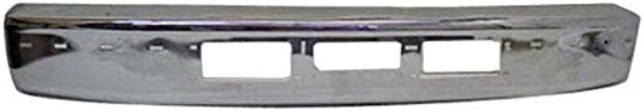 92-96 Ford F150 F250 F350 Gas Diesel Front Bumper Face Bar Chrome With Cut Outs FO1002254