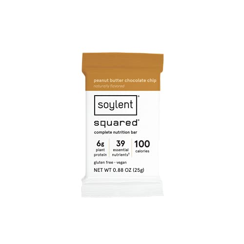 Soylent Squared Complete Nutrition Gluten-Free...