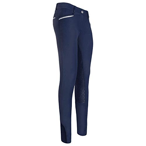 Imperial Riding EL Capone Womens Riding Breeches 36 Navy