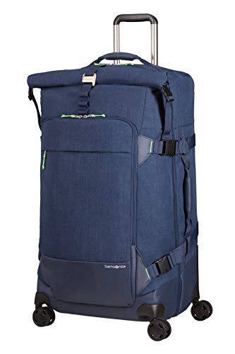 Samsonite Ziproll - Travel Duffle XL (4 Wheels), 80 cm, 114 L, Blue (Night Blue)