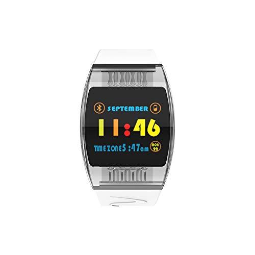 P63 Smartwatch, multifunctioneel, ARC glas, IP67, waterdicht, intelligente armband voor de gezondheid Transparant wit