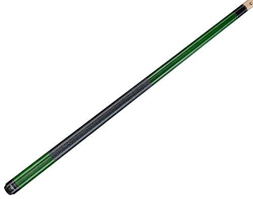VIKING Valhalla 2 Piece Pool Cue Stick with Irish Linen Wrap VA115 (19oz, Green)