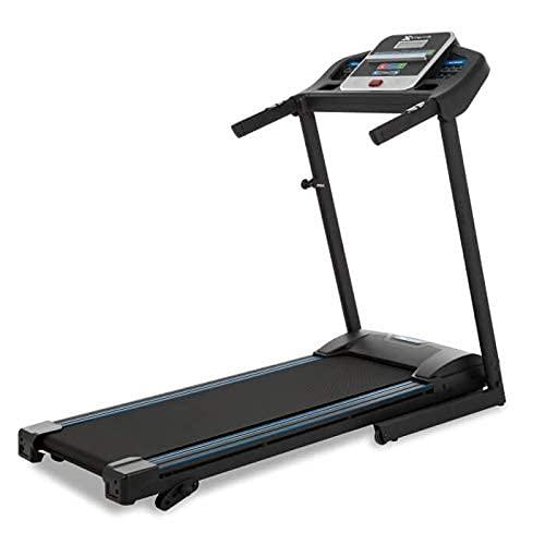 Xterra Fitness TR150 Treadmill Machine Folding 16' X 50' Running Surface 5' LCD Display Black