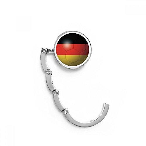 DIYthinker Alemania National Flag Football Fútbol Tabla Gancho Plegable del Bolso de...
