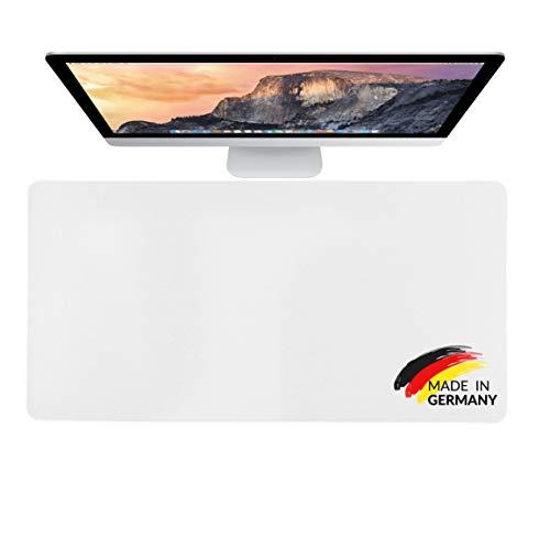 MADE IN GERMANY PREMIUM Schreibtischunterlage transparent - 80 x 40 cm - klare durchsichtige Schreibunterlage - Unterlage - Tischschoner - Schreibmatte - Mauspad - LIFEBOARD® by ENDLICH ERFOLG (1)