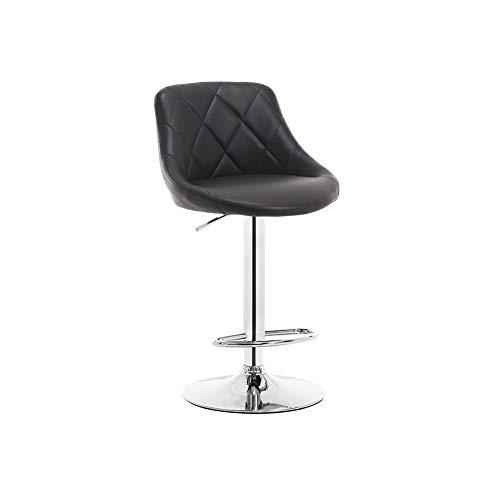 HLWJXS Silla de alto desayuno suave esponja asiento se puede montar y levantar taburete/a