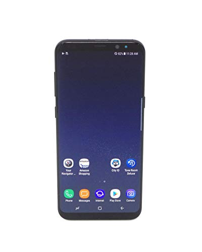 Samsung Galaxy S8+ SM-G955U 64GB Midnight Black AT&T (Renewed)