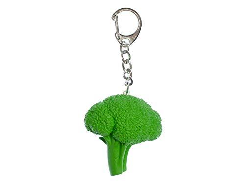 Miniblings Brokkoli Schlüsselanhänger Anhänger Essen Schlüsselring Garten Gemüse