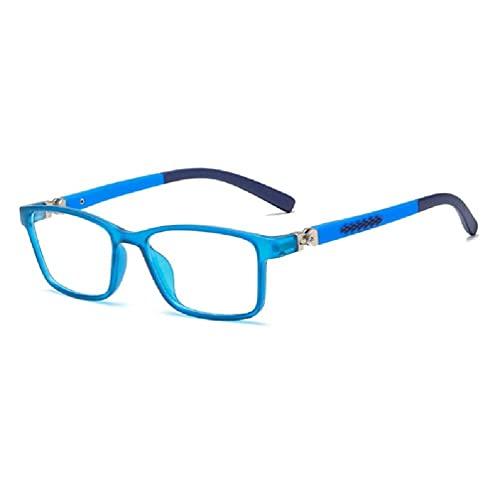 Yushu Kids Anti Blue Light Blocking Glasses, Children Frame Eyeglasses, Computer Eyewear Anti Eyestrain Headache, Anti Harmful Blue Ray, Protect Eyesight And Eye Health