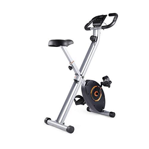 MMAXZ Bicicleta estática Plegable Hogar Interior Pérdida d