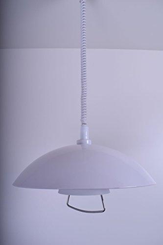 Lámpara colgante extensible Deco Mode Olivia 5295995 Luz de Comedor Luz Vintage...