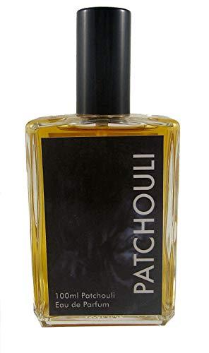 Teufelsküche Patchouli Natur, Eau de Parfum unisex, Gothic Parfum, Vaporisateur/Spray, 100 ml Glasflakon, Gotik Patchouly