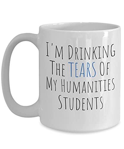 Tazze per insegnanti di materie umanistiche Regali per insegnanti di scienze umane Apprezzamento per tazza da caffè