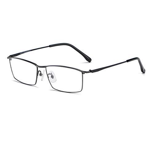 HQMGLASSES Gafas de Lectura Anti-Azul de Titanio de Titanio