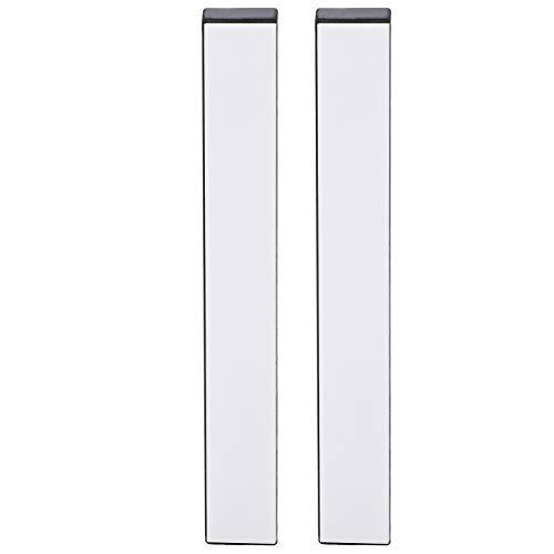 SALUTUYA 4000 Körnungen 2St. Weißer Saphir Materialmesser Schleifstein Messer Schärfwerkzeug schneidet Eisen schnell Schärfer Schleifstein Küchenzubehör für die Küche
