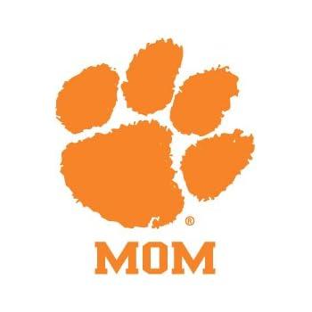Clemson University Wordmark Decal Tiger Sports