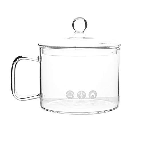 Cereal Bowls Tazón de sopa de fideos y fideos en minutos, perfecto para dormitorio, cocina pequeña u oficina, apto para lavavajillas (color: blanco, tamaño: 14,5 x 10,6 cm)