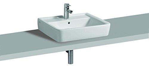 Keramag Aufsatzwaschbecken Renova Nr. 1 Plan, 225160 60x48cm Keratect weiß(Alpin) 225160600